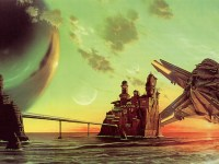Excession cover art for Iain M. Banks Culture novel