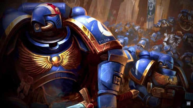 Space Marines are cool, but unlikely to ever be a thing