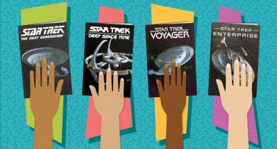 Get your Star Trek Bibles