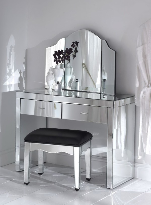 Mirrored Vanity Table Pier Home Design Ideas