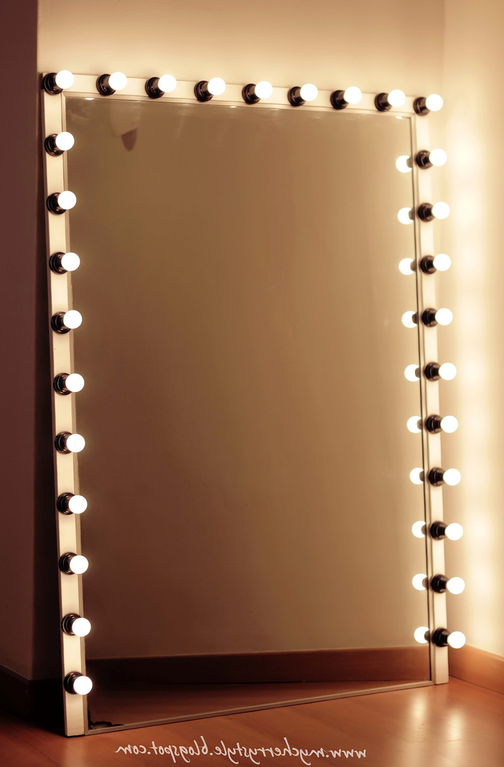 Vanity Mirror With Lights Bulbs  Home Design Ideas