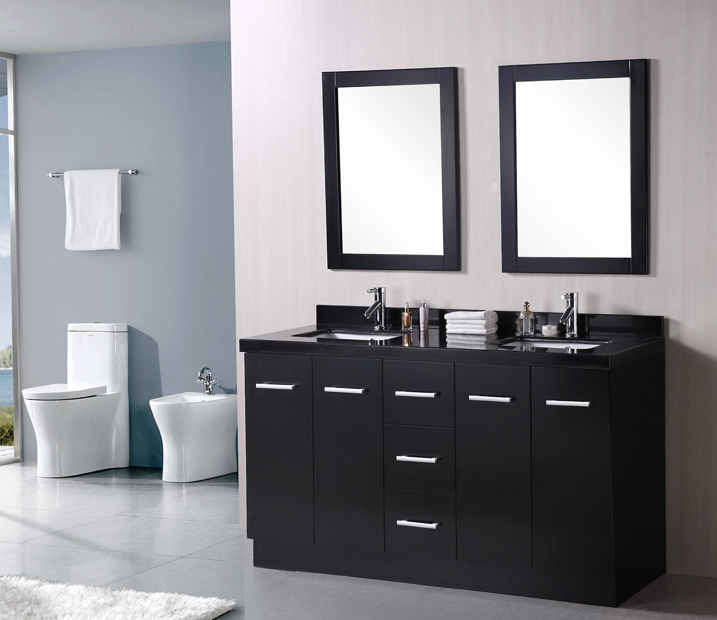 Bathroom Wall Mirrors Target  Home Design Ideas