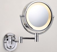 Lighted Makeup Mirror Wall Mount Bed Bath And Beyond ...