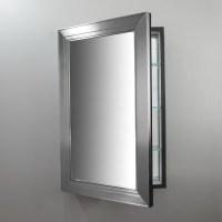 Brushed Nickel Mirror Medicine Cabinet | Home Design Ideas