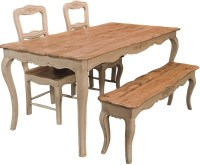 Country Kitchen Table With Bench | Home Design Ideas