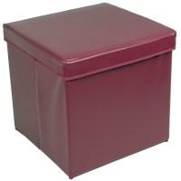 Diy Storage Ottoman Cube | Home Design Ideas