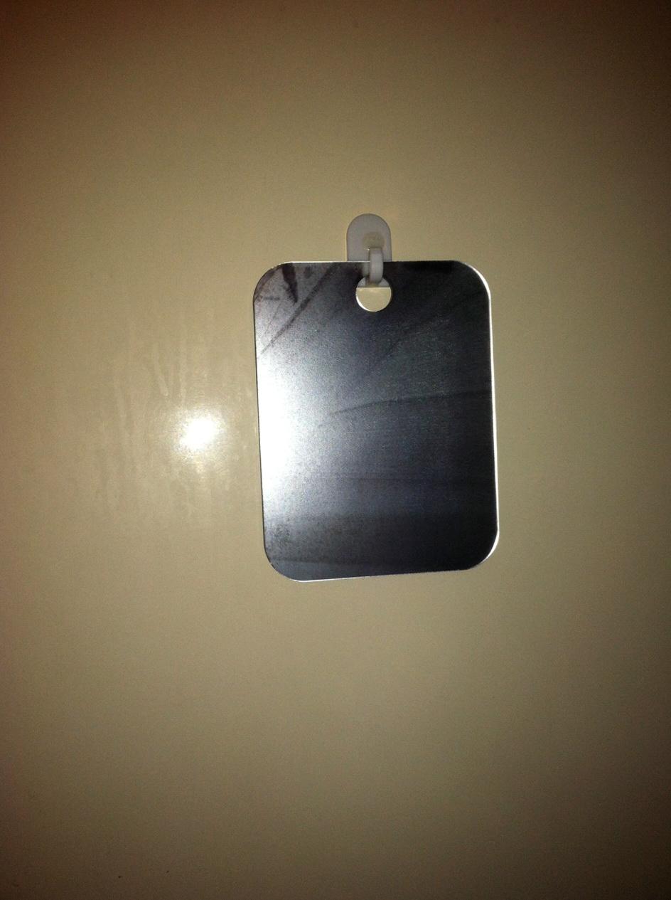Fog Free Shower Mirror Brookstone