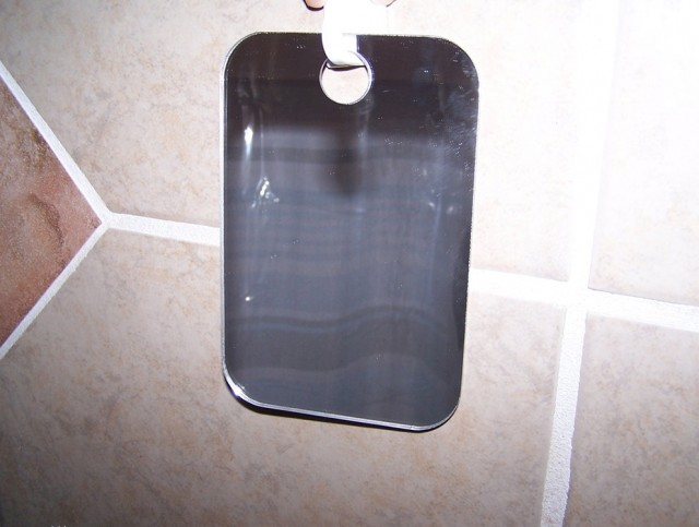 Fog Free Shower Mirror With Bluetooth