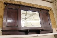 Mirror With Hooks. Simple Entry Mirror With Shelf And ...
