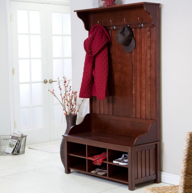 Hall Tree Storage Bench Ikea Home Design Ideas