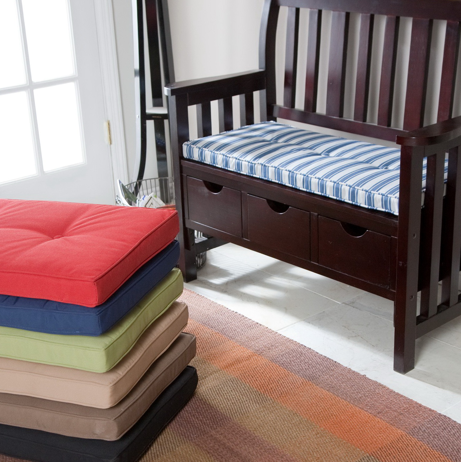 Indoor Bench Cushions 45 X 15 Home Design Ideas