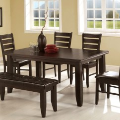 Kitchen Table With Bench And Chairs Comfort Mats 4 Home Design Ideas