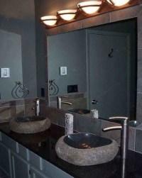 Large White Bathroom Mirror | Home Design Ideas