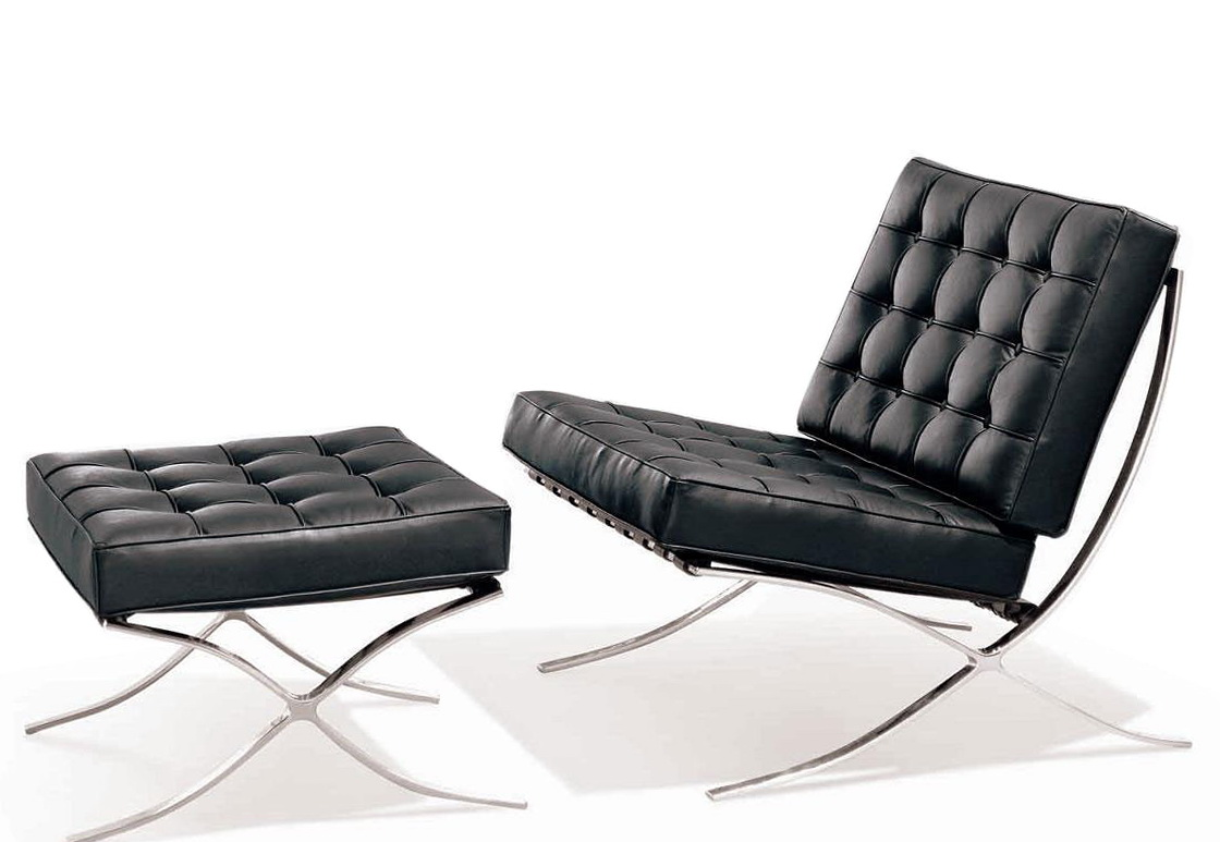modern leather chair and ottoman dxracer gaming singapore with home design ideas