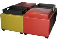 Ottoman With Tray Table | Home Design Ideas