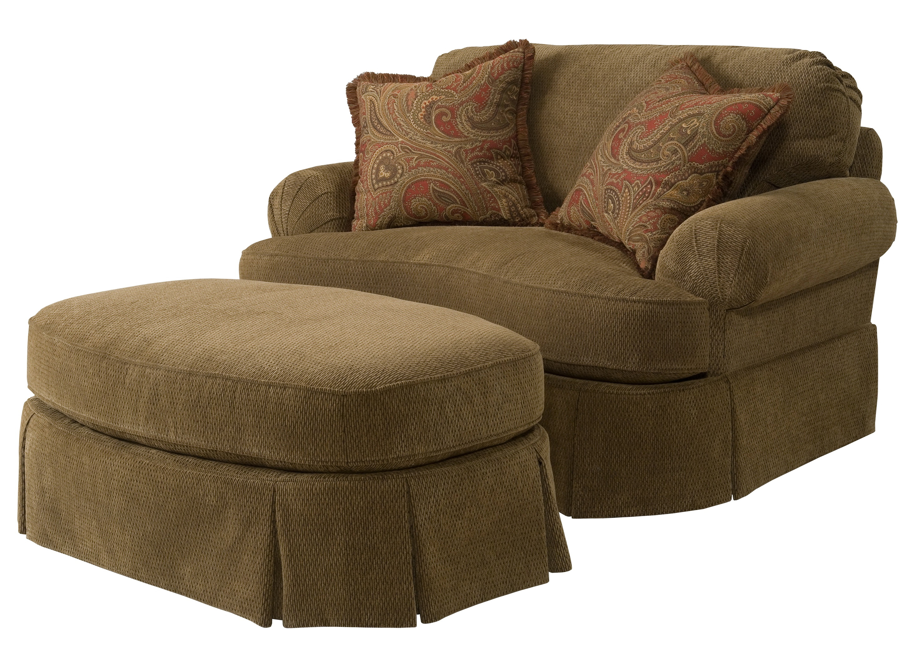 oversized chair and ottoman set nova posture leather home design ideas