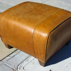 Leather Sofa Like Pottery Barn Repair Kitchener Ottoman Home Design Ideas