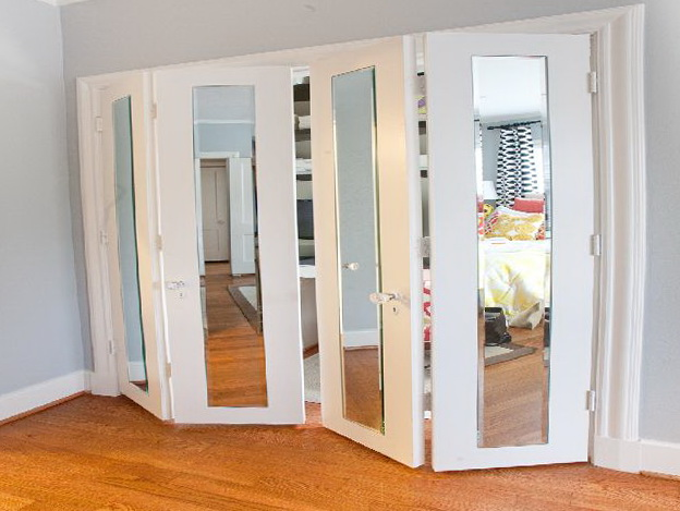 mirror for closet door home