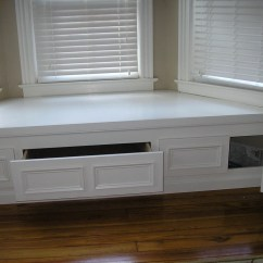 Ikea Kitchen Table With Drawers How To Remodel A On Budget Bay Window Bench Storage | Home Design Ideas