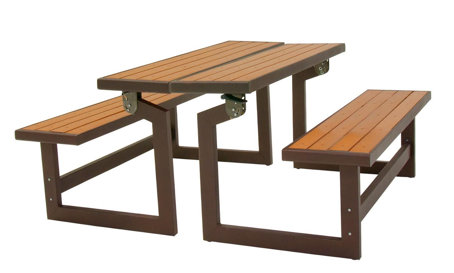 Convertible Bench Picnic Table Plans Home Design Ideas