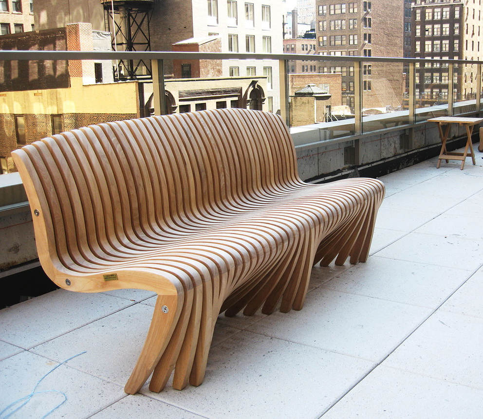 Decorative Outdoor Wooden Benches Home Design Ideas