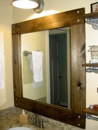 Diy Framed Mirrors For Bathroom | Home Design Ideas