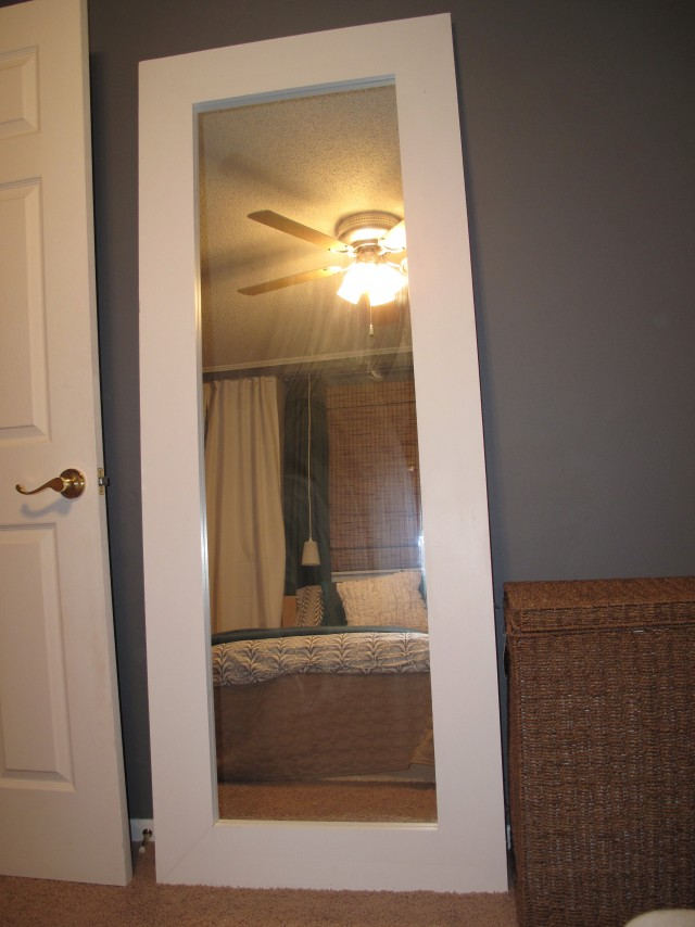 Over The Door Full Length Mirror  Home Design Ideas