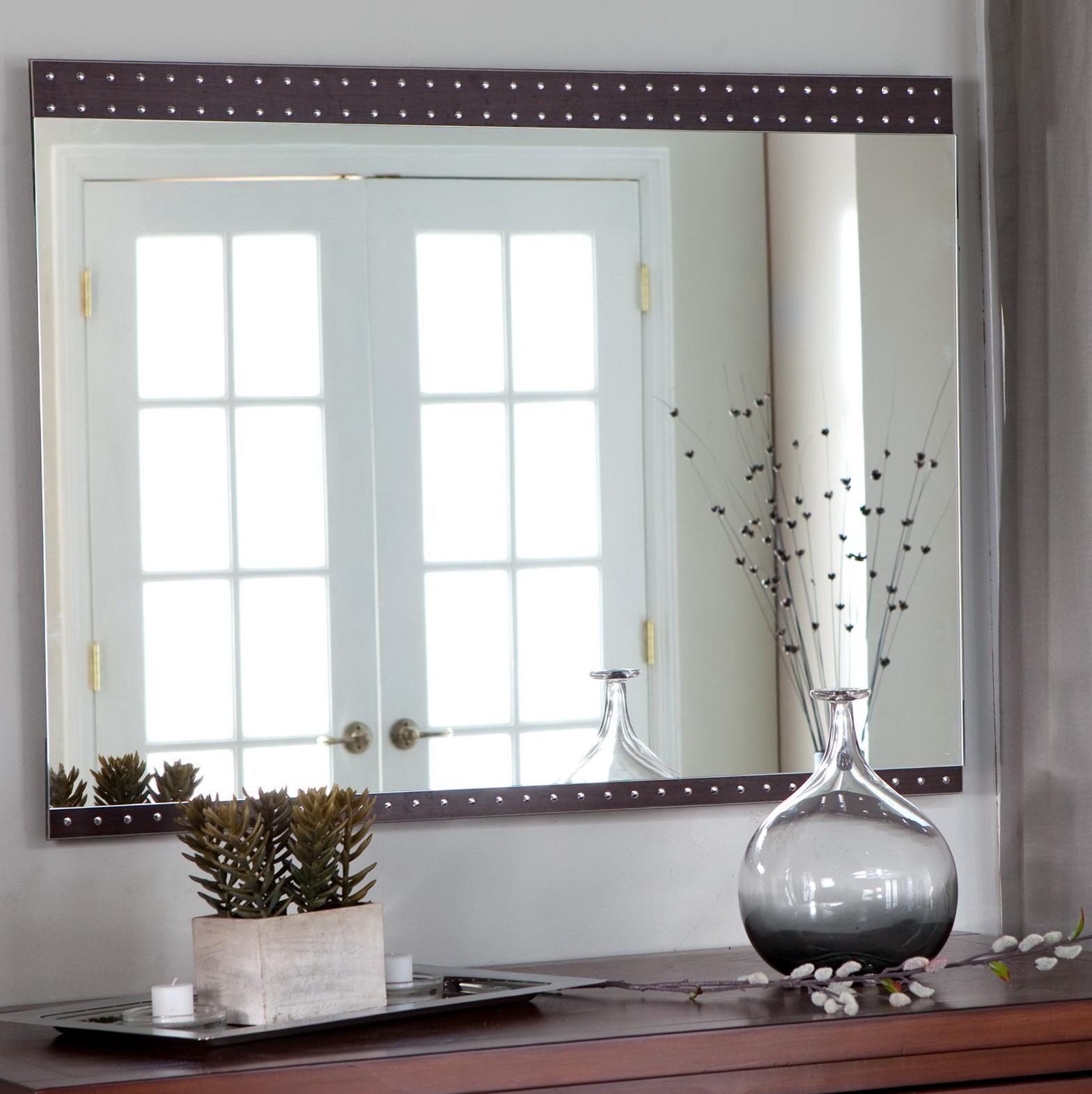 Large Modern Wall Mirrors Home Design Ideas