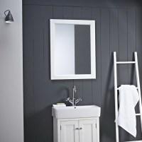 large white bathroom mirror - 28 images - large white ...