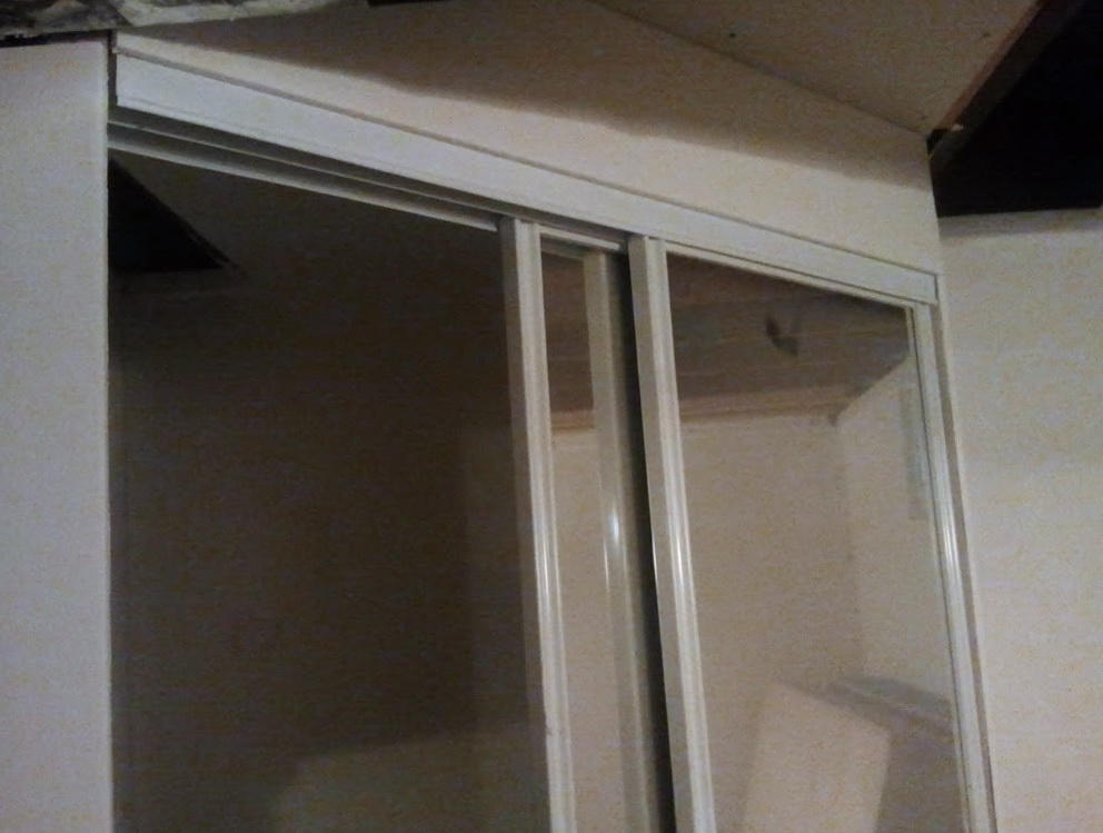 Mirrored Sliding Closet Doors Lowes Home Design Ideas
