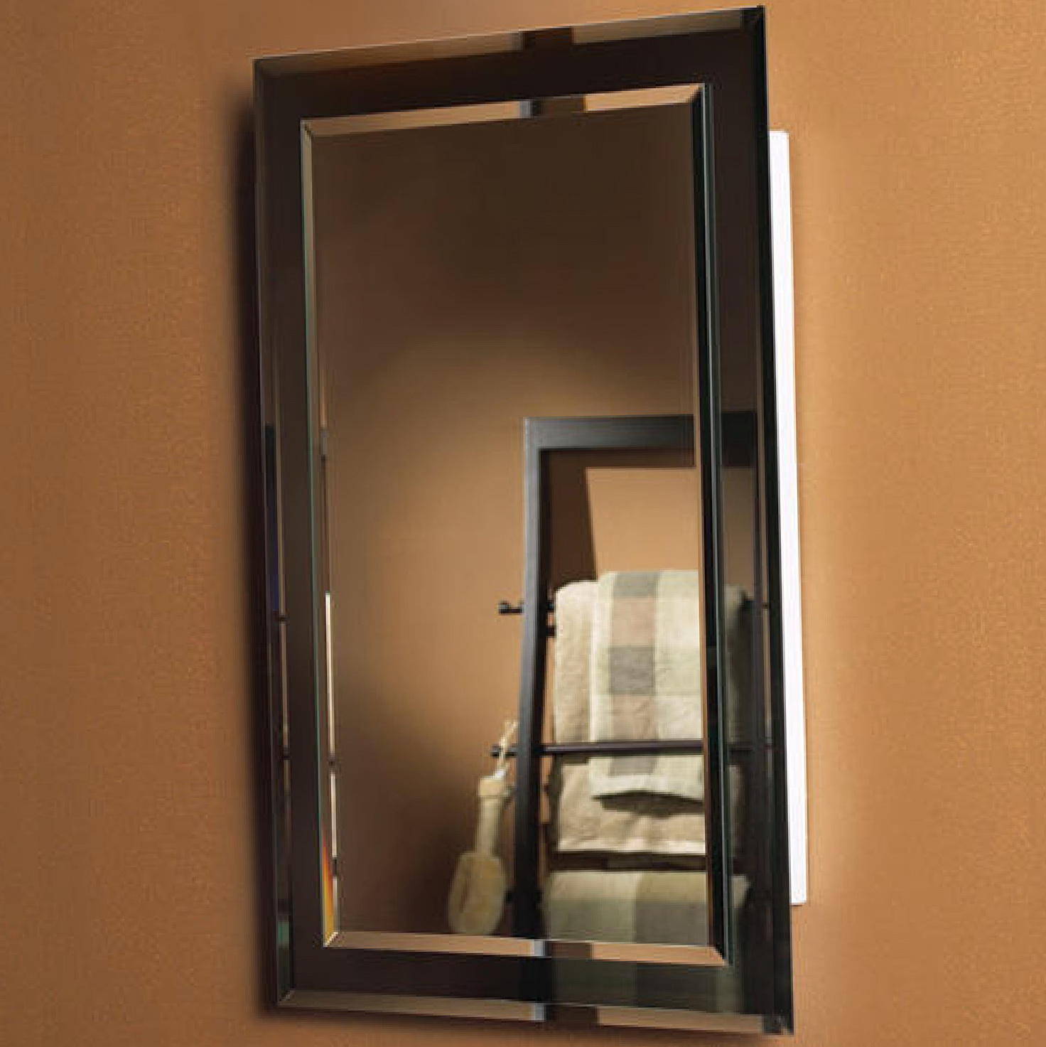 Recessed Medicine Cabinets With Mirrors Home Design Ideas