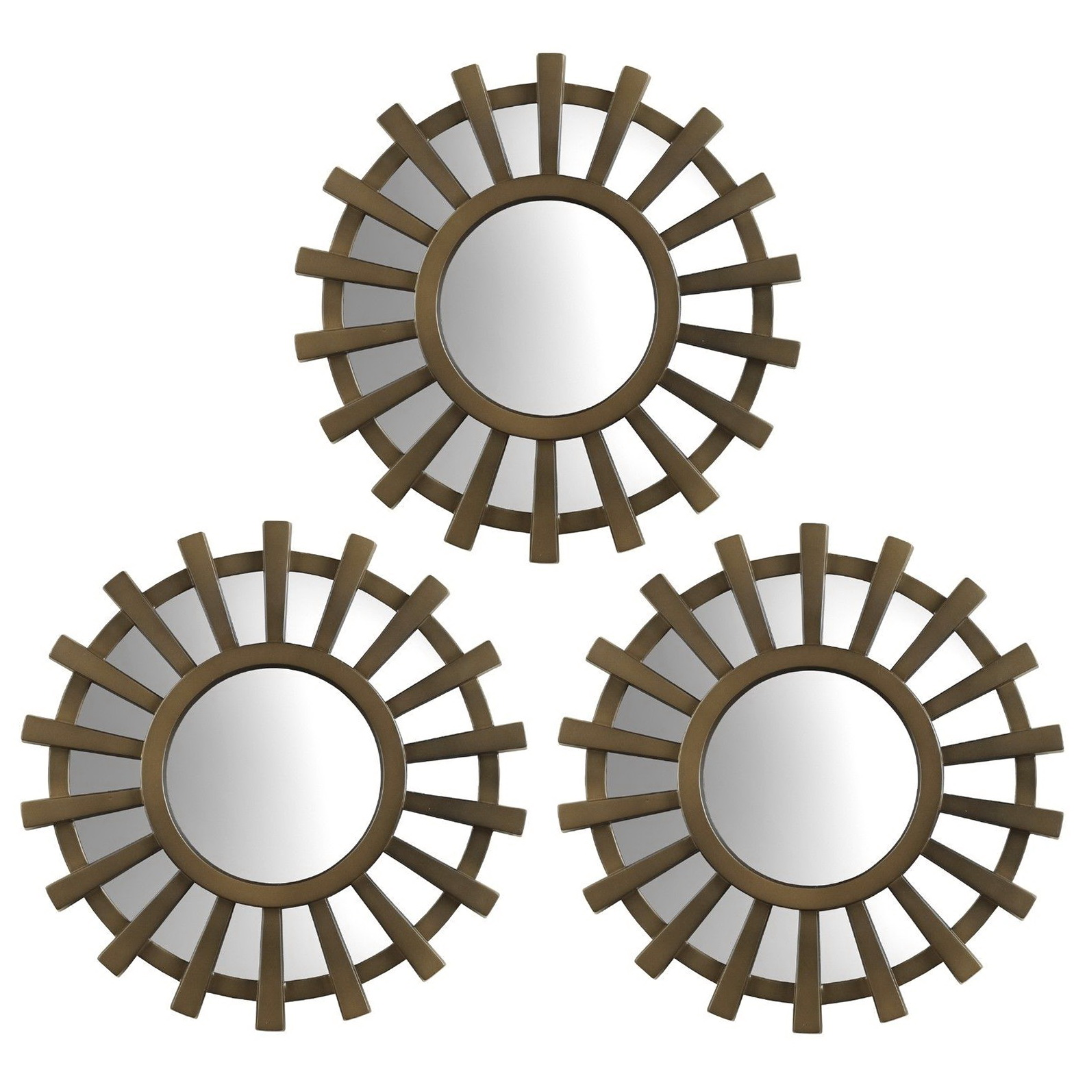 Small Decorative Mirrors Set Of 3 Home Design Ideas