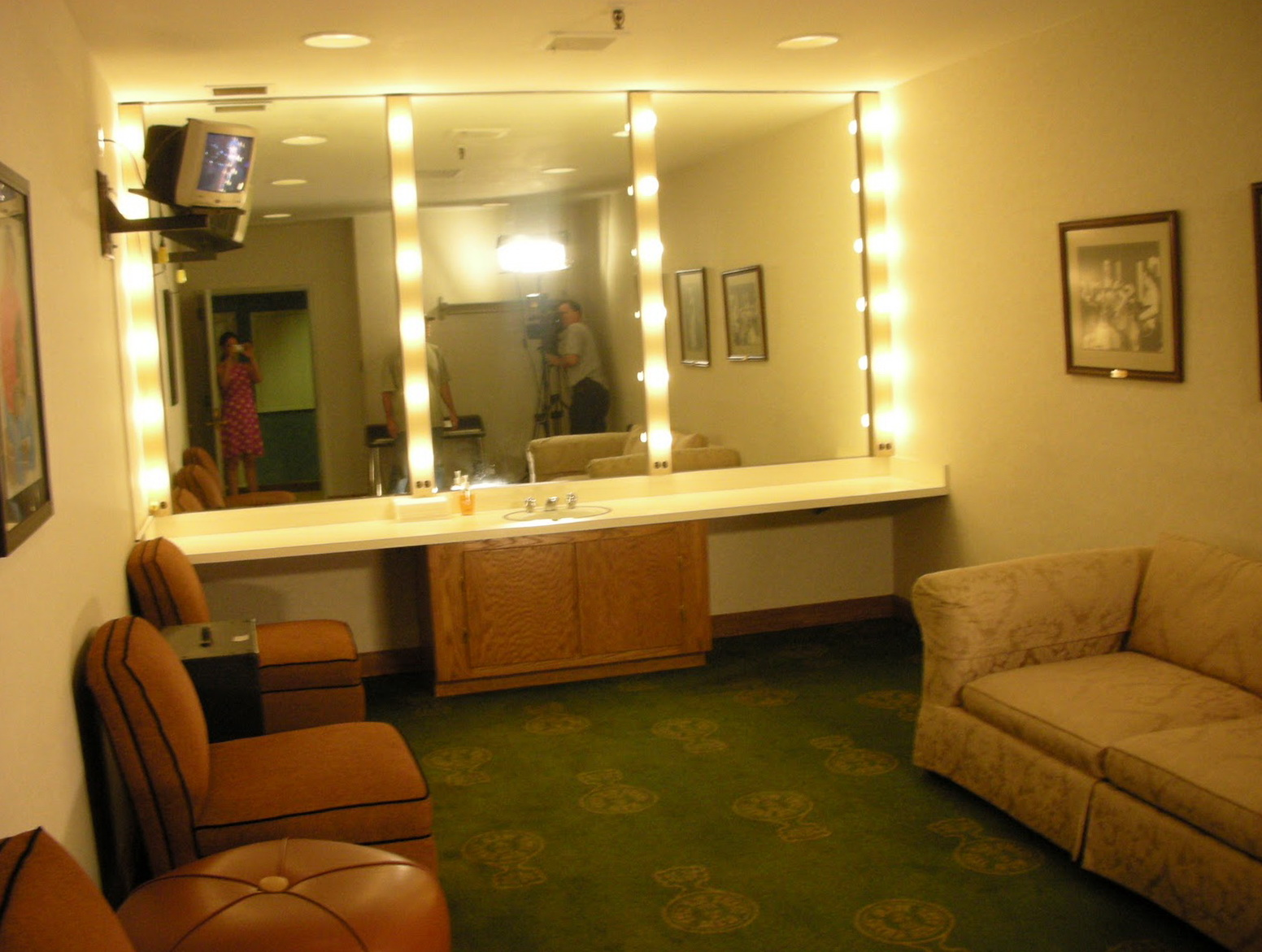 Stage Dressing Room Mirrors  Home Design Ideas