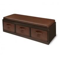 Diy Storage Bench With Cushion | Home Design Ideas