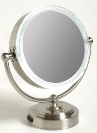 travel makeup mirrors with lights magnified - Style Guru ...