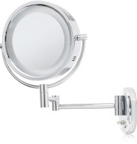 Wall Mounted Lighted Makeup Mirror Battery | Home Design Ideas