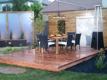 Home Depot Floating Patio Deck Designs