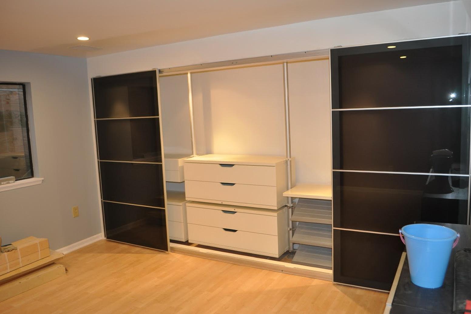 Ikea Closet System Hack  Home Design Ideas