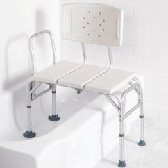 Shower Transfer Chair Rectangular Rubber Glides Sliding Bench For Home Design Ideas