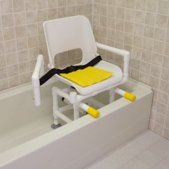 Shower Chair With Swivel Seat Christmas Themed Covers Sliding Transfer Bench Home Design Ideas