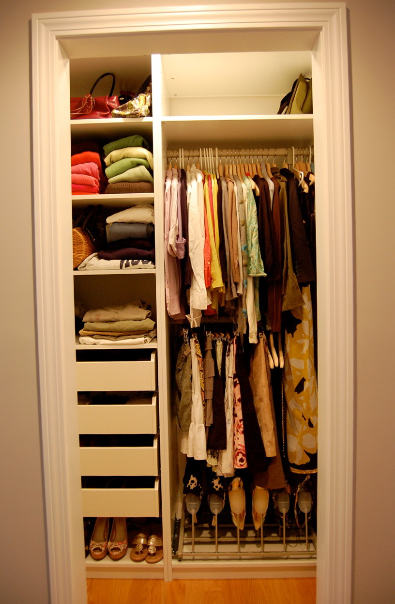 Small Walk In Closet Organization Ideas Home Design Ideas