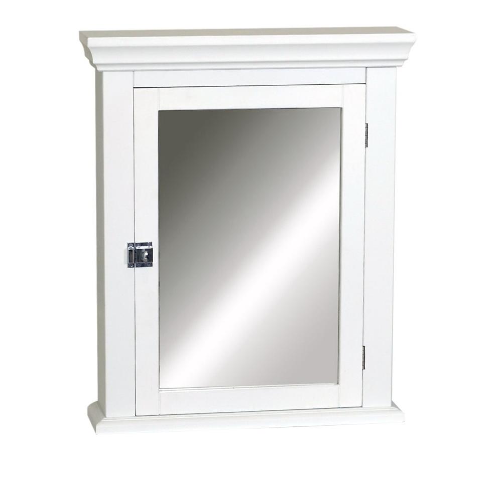 White Medicine Cabinet With Mirror  Home Design Ideas