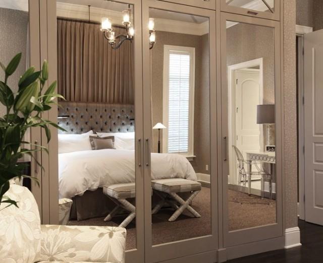 ideas for bedroom closet doors   home design ideas