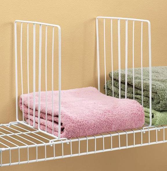 Closet Shelf Dividers Diy Home Design Ideas