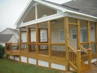 Deck With Gable Roof | Home Design Ideas