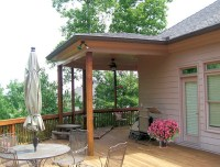 Deck With Partial Roof | Home Design Ideas
