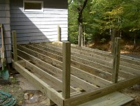 Installing Deck Railing Posts On Outside Of Deck | Home ...