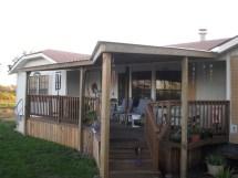 Mobile Home Covered Decks Design Ideas
