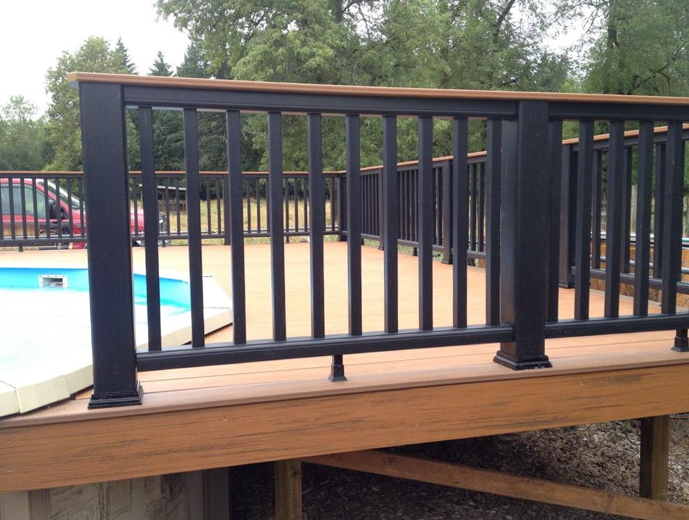 Trex Deck Railing Pictures  Home Design Ideas