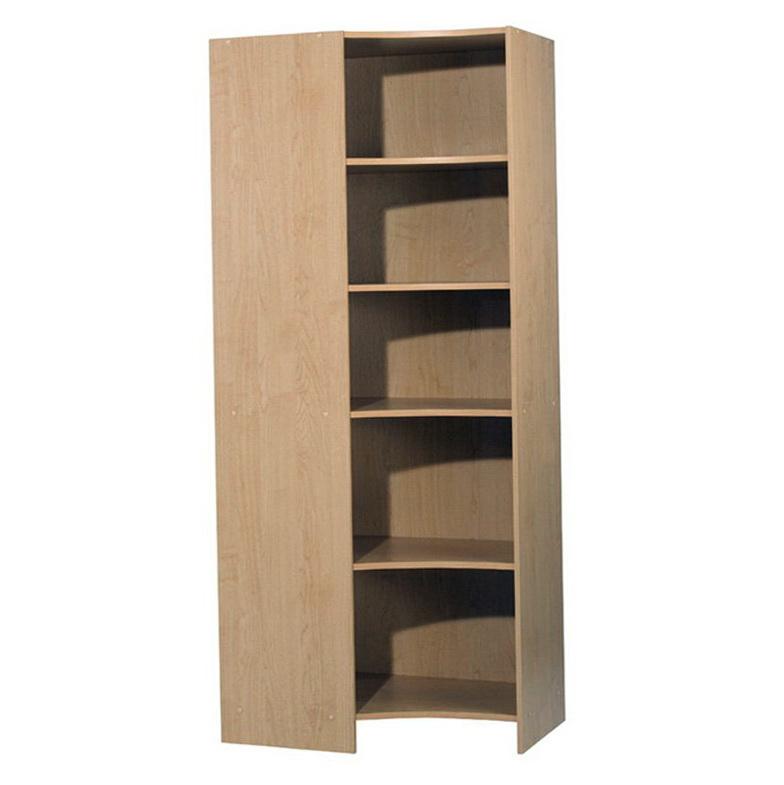 Closet Organizer With Corner Shelves Home Design Ideas